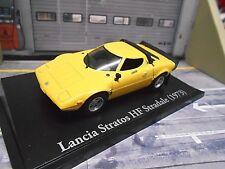 Lancia Stratos HF Stradale evo v6 Dino Coupe amarillo 73 precio especial Ixo Altaya 1:43