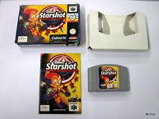 STARSHOT Panique Au Space Circus Infogrames Nintendo 64 N64 PAL Retro Game