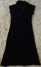 VIGORELLA dress..black..Merino wool blend..made in Australia