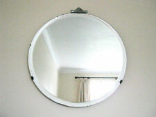 Unbranded Frame Round Decorative Mirrors with Bevelled