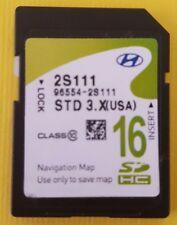 2014 2015 HYUNDAI TUCSON Navigation SD Card Map Data 16GB GPS OEM 96554-2S111