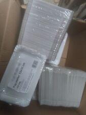 !!!NEU!!! Teller Pappe rechteckig 10 x 16cm 250 Stück,Einweg Kuchenteller!!!NEU!
