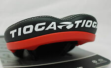 TIOGA MC GROOVE MTB OFFROAD DH FREERIDE BICYCLE SEAT SADDLE BLACK RED