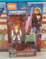 Original Mega Construx He-Man Masters of The Universe Prince Adam Mini Figure