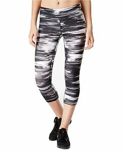 New IDEOLOGY Women's Printed Capri Cropped Leggings Yoga Active Workout XSmall