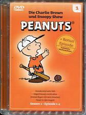 TV-Klassiker Die Charlie Brown und Snoopy Show 1 USA 1966-70 Peanuts DVD deutsch