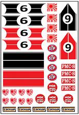 1/64, 1/87 - DECALS FOR HOT WHEELS, MATCHBOX, SLOT CAR: JAPAN VINTAGE III