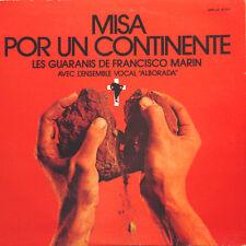 LES GUARANIS Misa Por Un Continente FR Press Barclay 80 457 1972 LP