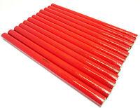 Carpenters Joiners Pencils 12pc Pencil Soft Lead Set Builders Carpentry TZ WW112