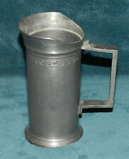 Neat Old Antique/Vintage Pewter Measure!
