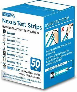 GlucoRx Nexus Test Strips in date 2021 WILL SEND OUT ASAP