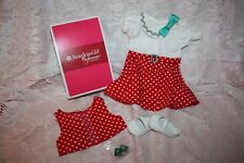 NEW American Girl KIT'S REPORTER DRESS w/ SHOES  NIB  RETIRED