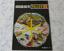 Faller  -- Modellbau Jahres Katalog 1969/70