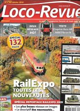 Loco Revista N º 750 Rail Expo 2009 / Chapelon Roco Ho / Deux Red Ho