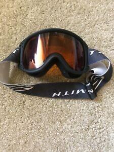 Boys Ski Goggles - Smith Adjustable Strap - Youth Snow Board Goggles