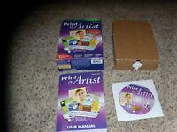 Print Artist Version 23 (PC, 2010) Near Mint Program with box and manual