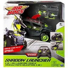 Spin Master 6026326 Air Hogs Shadow Launcher Veicolo con Elicottero R/c