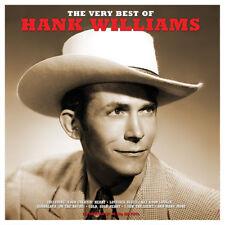 Hank Williams - The Very Best Of (2LP Gatefold 180g Red Vinyl) NEW/SEALED