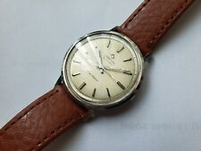 Vintage Rare Certina Blue Ribbon Mens Watch Swiss Automatic Movement 25-65