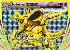 x1 Nidoking BREAK - 46/108 - Rare BREAK Pokemon XY Evolutions M/NM