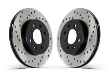 Centric Rear Left & Right OE Design Drilled Brake Rotors 2006 07 08 BMW M3 Z4 M