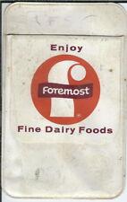 BB-126 Foremost Dairy Vintage Pocket Protector Enjoy Fine Dairy Foods
