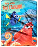 Disney Finding Dory Plush Fleece Throw Blanket Silky Soft Cuddly Plush Blankets