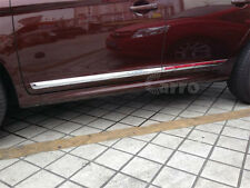 ABS Chrome Body Side Door Molding Trim Stripe Fit For Volvo XC60 2014 2015 2016