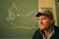 JAWS ROBERT SHAW AS CAPTAIN QUINT SUPERB PHOTO
