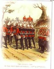 Queen's Own Royal West Kent Regiment Trading Card by Richard Simkin 1890-1905