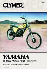 Clymer Repair Service Shop Manual Vintage Yamaha GT/YZ80,AT/DT/MX/YZ 100,125,175