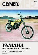Clymer Repair Service Shop Manual Vintage Yamaha GT/YZ80,AT/DT/MX/YZ 100,125,175