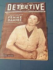 Détective 1953 SAINT ANDRé LEZ LILLE SAINT SERVAN GIVET