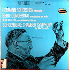 WESTMINSTER STEREO Berg Schoenberg GERLE Violin Concertino SCHERCHEN WST-17086