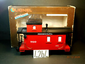 LIONEL LARGE SCALE #8-87700 PENNSYLVANIA LIGHTED CABOOSE ,OB
