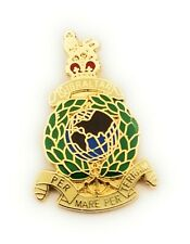 Royal Marines Lapel Pin Badge Gift Pouch FREE UK Delivery!