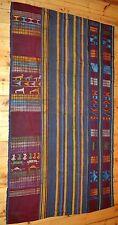 African Tribal Textile Ewe People Woven Adanudo Man's Cloth Ghana Togo, Africa