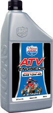 LUCAS SEMI-SYNTHETIC ATV ENGINE OIL 10W-40 QT 10720