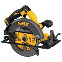"New Dewalt FLEXVOLT 60V Cordless Brushless 7-1/4"" Circular Saw DCS575 Bare Tool"