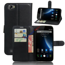 Case For 5.5inch Doogee T6 Doogee T6 Pro Flip PU Leather Skin Card Holder Cover