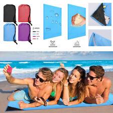 New listing Beach Magic Mat Blanket Sand Free Outdoor Camping Waterproof Picnic Plaid Sport