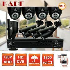 KARE 8CH 720P HDMI CCTV DVR Dome Bullet Waterproof Camera Security CCTV System