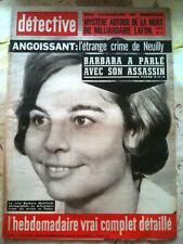 DETECTIVE 17/04/64   Mystère du Millardaire Lafon