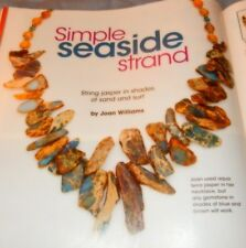 Bead Style Simple Seaside Strand No Solder Metal Earrings Petals 50+ Projects