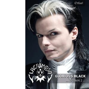 "LACRIMOSA ""Glorious Black – Season 2"" (Lim. Ed. 499 Stück) + sig. Autogramm!"
