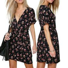 Unbranded Women's Regular Size Wrap Dresses
