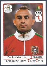PANINI EURO 2012- #268-PORTUGAL-GRANADA-CARLOS MARTINS
