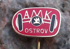 Czechoslovakia Automotoklub AAA Association Car Club AMK Ostrov Axle Pin Badge