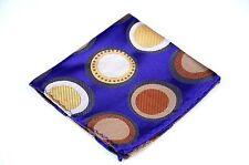 Lord R Colton Masterworks Pocket Square $75 New Rocas Atoll Gray Purple Silk