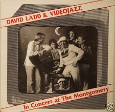 DAVID LADD & VIDEOJAZZ =In Concert At The Montgomery= LP RARE Jazz. Sealed